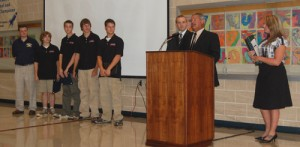 Rocket Team honored