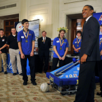 Rocket Team at the White House