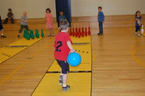 Martic Elementary bowling
