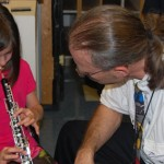 test driving the clarinet