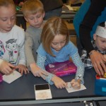 First grade students at Martic Elementary