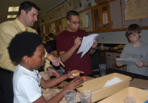 Manor Middle School Mr. Reustle and Seventh Grade Students
