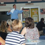 Penn Manor staff listen to instructor