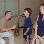 Elementary Students 'Test Drive' Musical Instruments