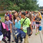 1st day at Manor middle