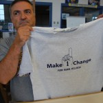 Make One Change t-shirt
