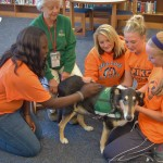 Therapy dog helped students feel at ease