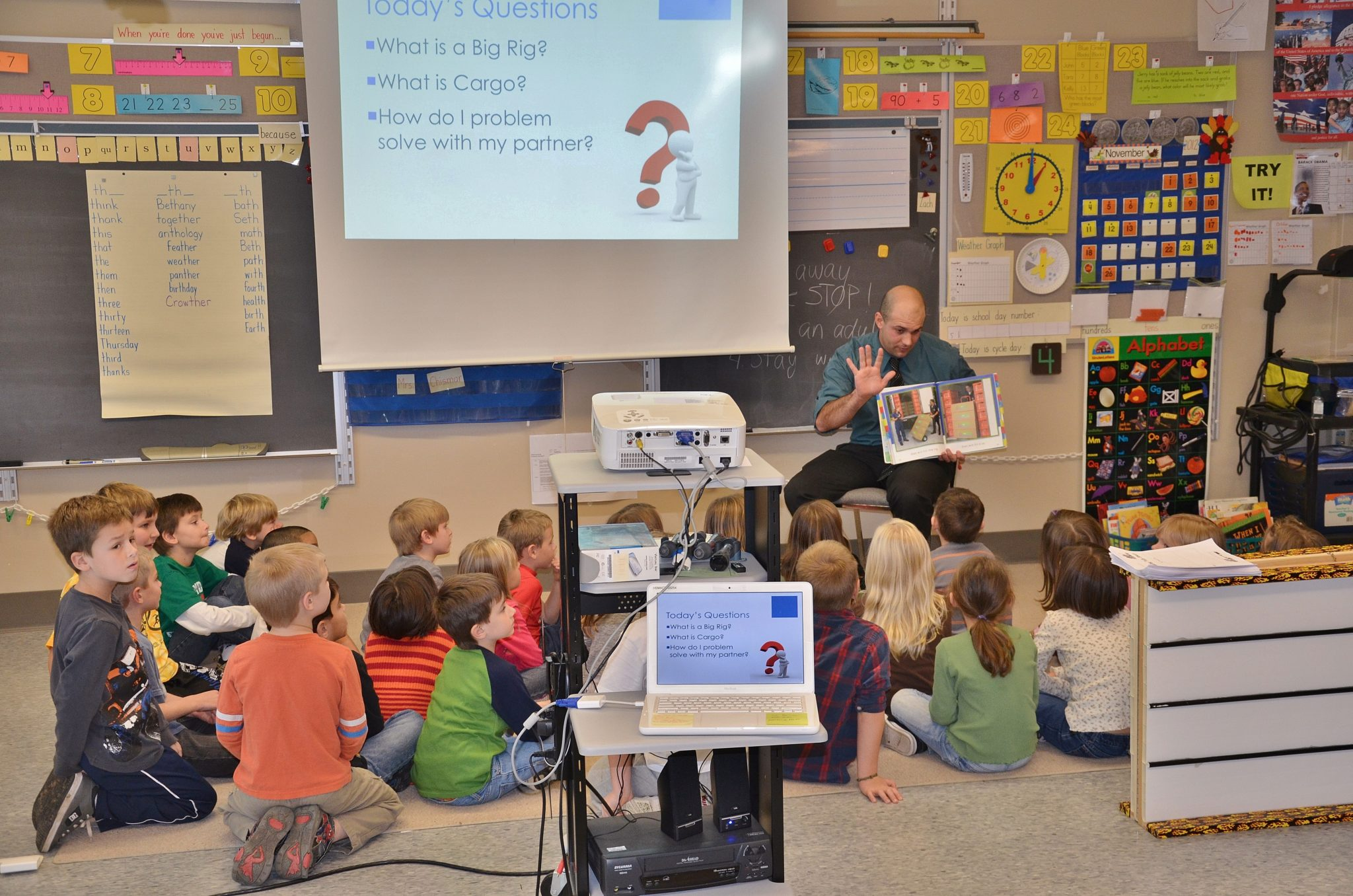 District's elementary 21st Century curriculum receives state