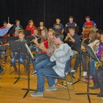 Martic middle school band plays patriotic songs