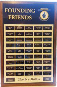 Founding Friends Plaque