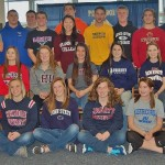 In all, 27 student athletes took part in the ceremony.