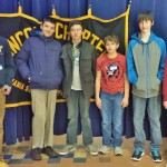 Marticville Math Counts team members, from left, Reed Morrison, Christopher Trussel, Henry Ginder, Nathaniel Metzler, Ryan Shirk and Nicholas Fafel.