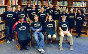 Group shot of PMHS students accepted in to Millersville University.