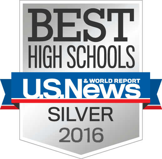 Best High Schools U.S. News & World Report Silver 2016 award
