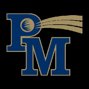 Penn Manor logo - white