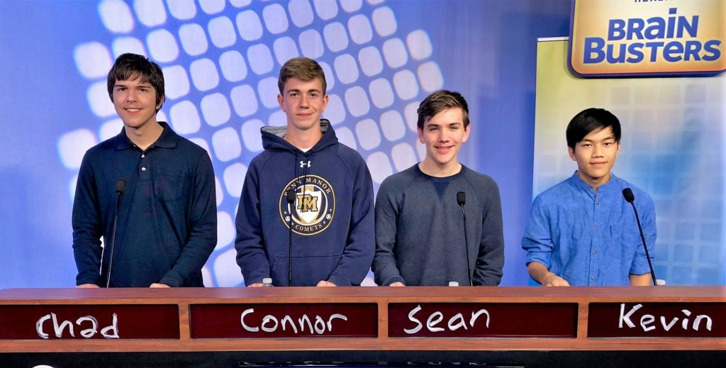 Penn Manor Quiz Bowl members