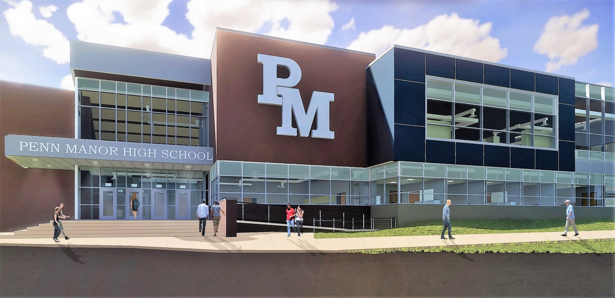 high school renovation  construction project to get under