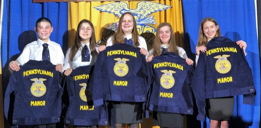 FFA Jacket recipients