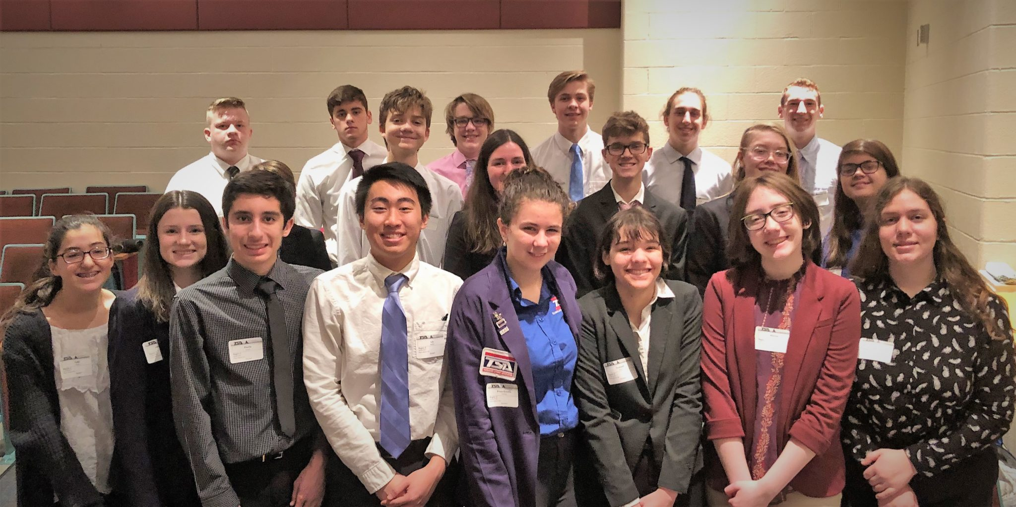 High school TSA participants