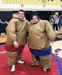 MiniTHON sumo wrestlers