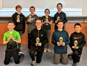 Sixth-grade champions