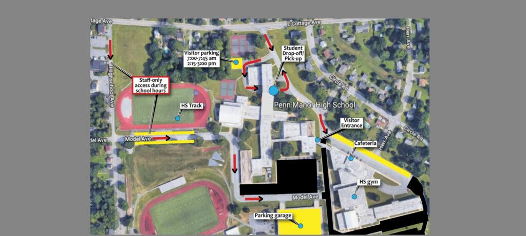 HS campus map