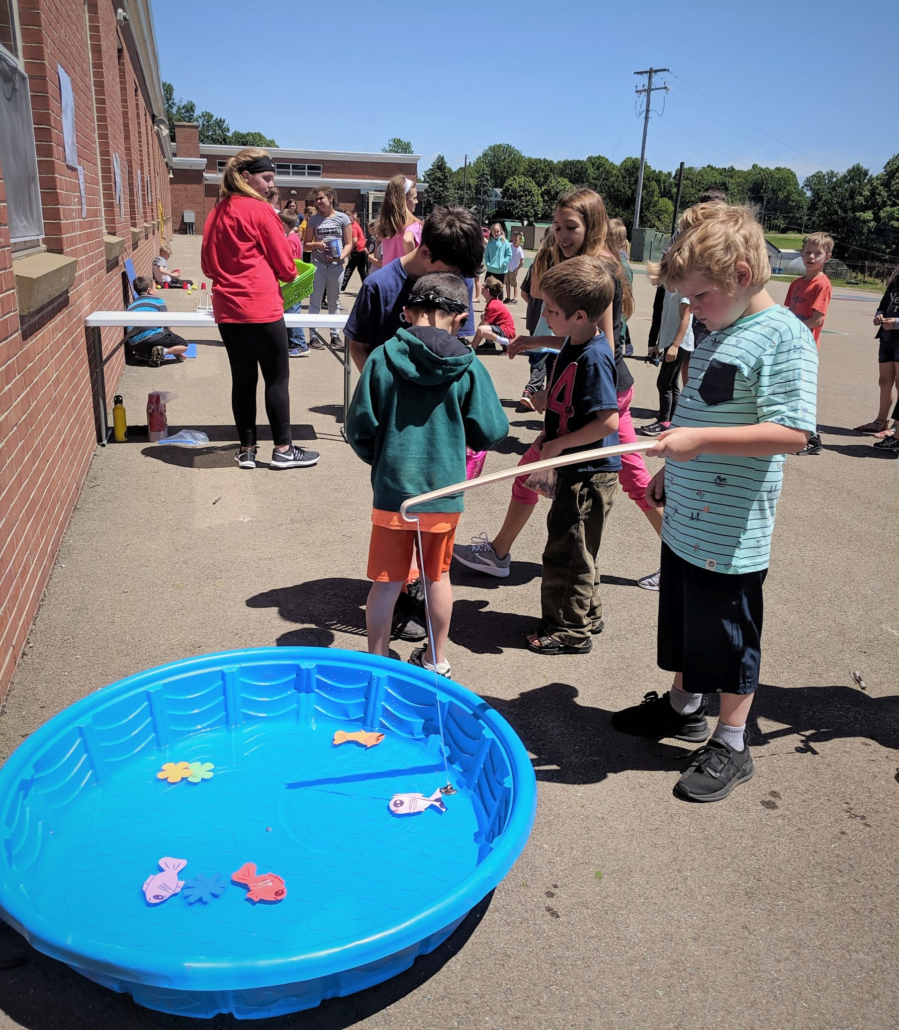 Martic students participate in the fundraising carnival