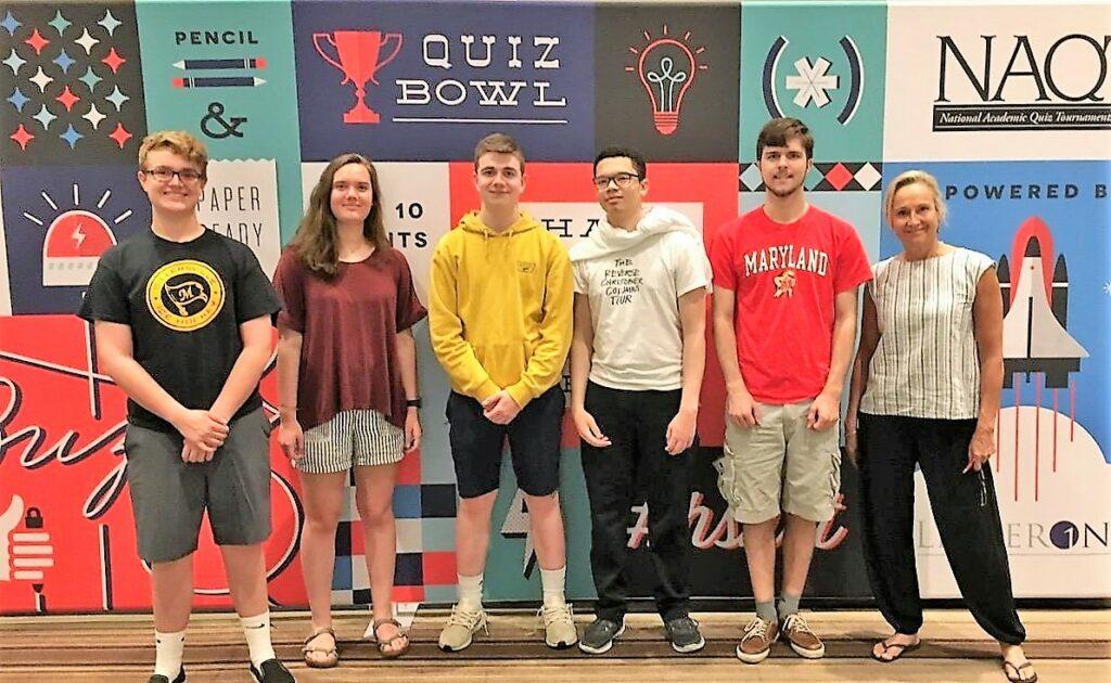 Quiz Bowl team members