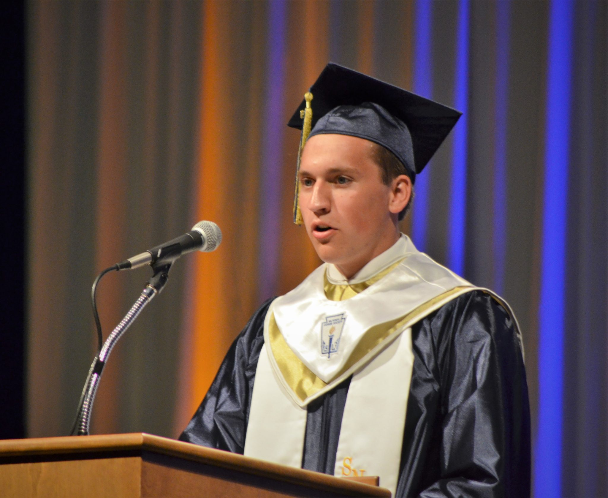 Graduation speaker Jared Stephan