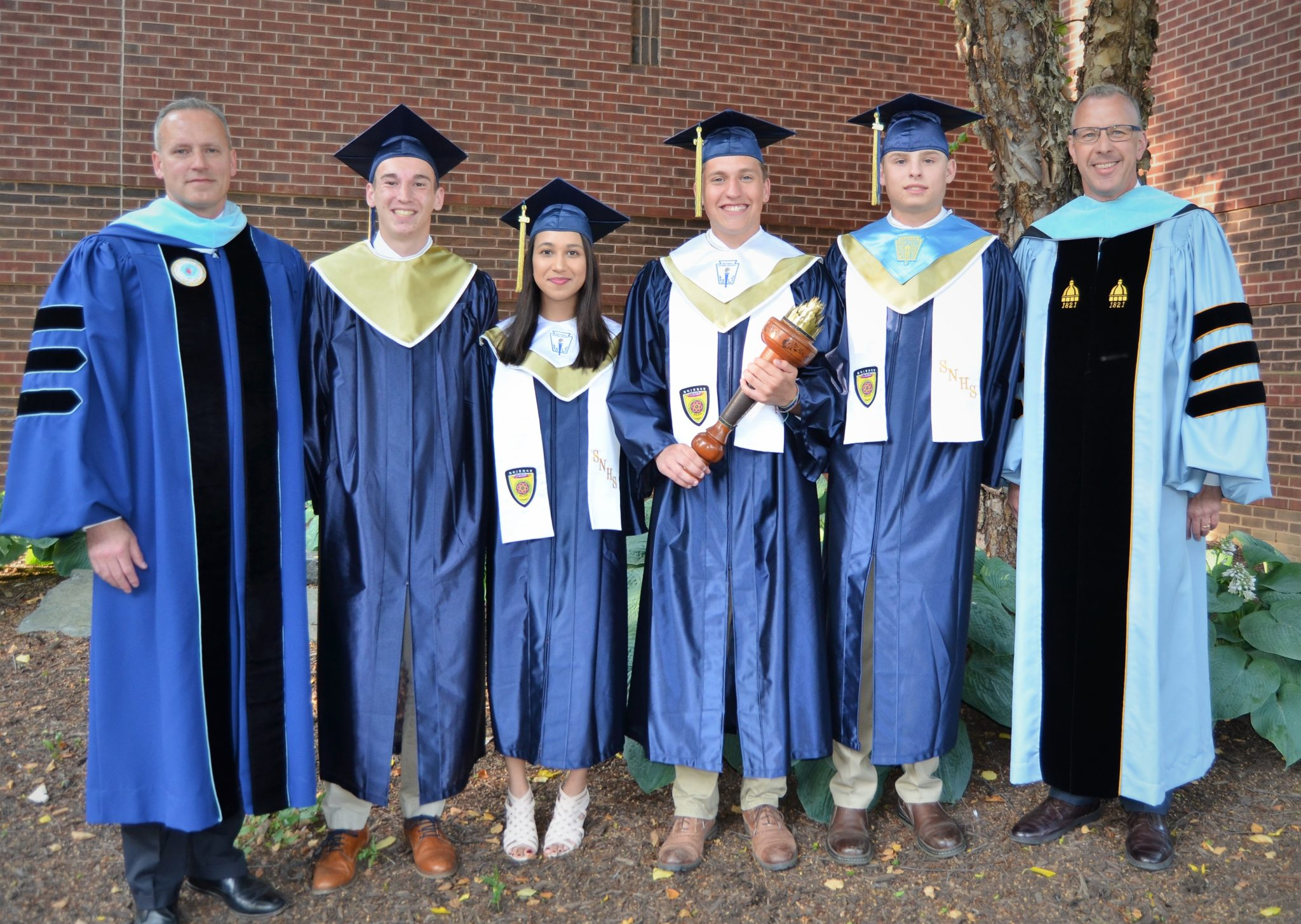 Graduation speakers, principal and superintendent