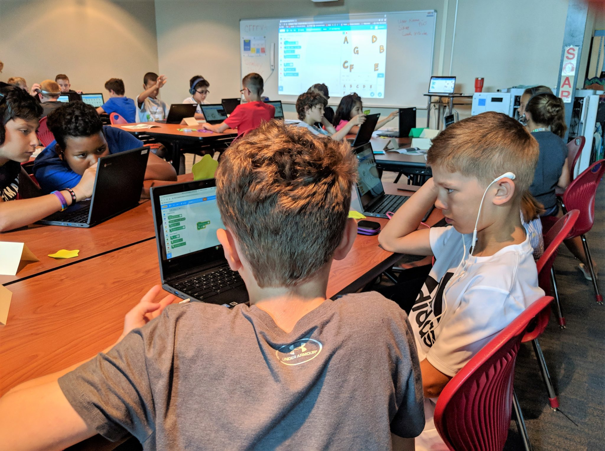 Coding Camp at Eshleman Elementary