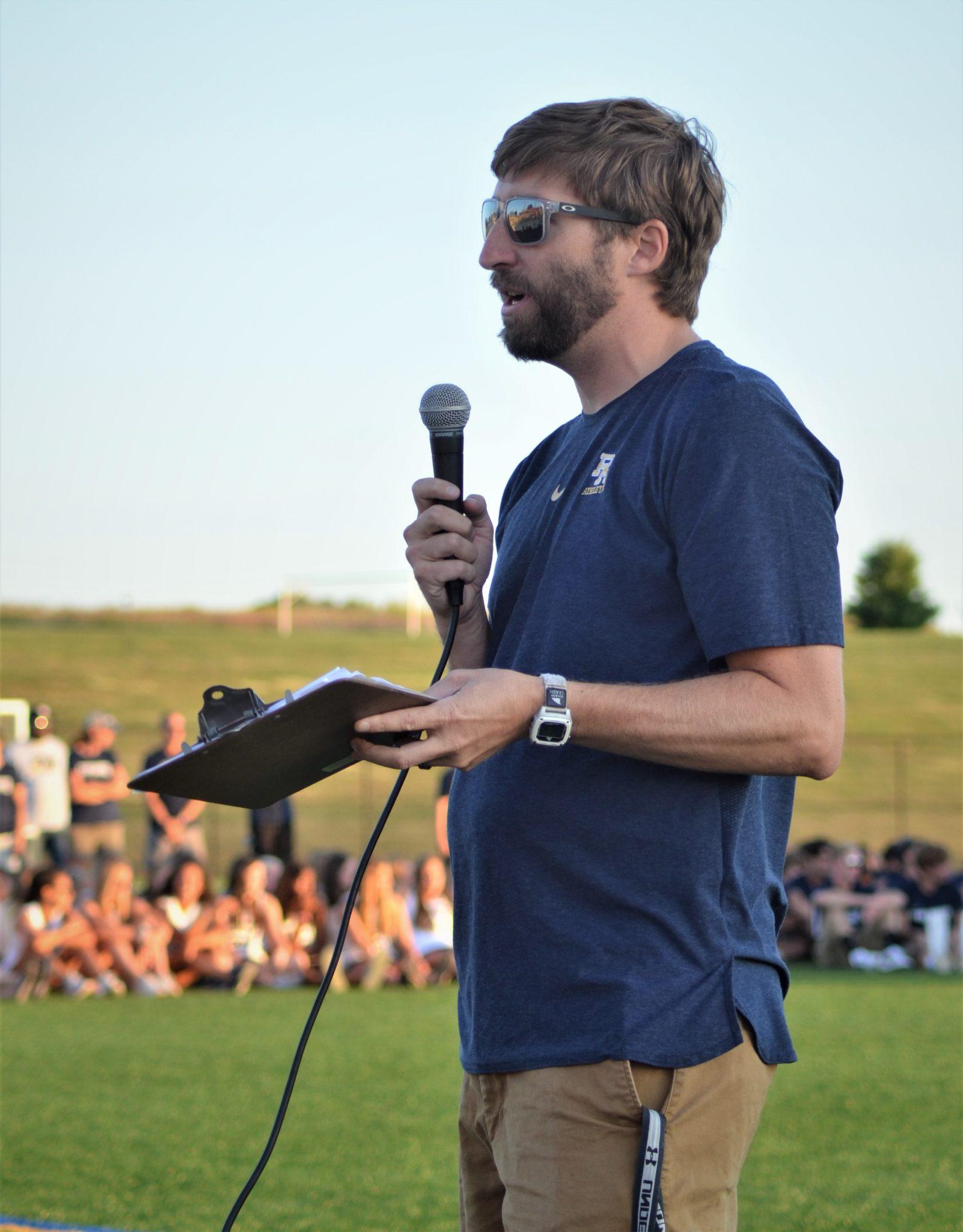 Athletic director Steve Kramer