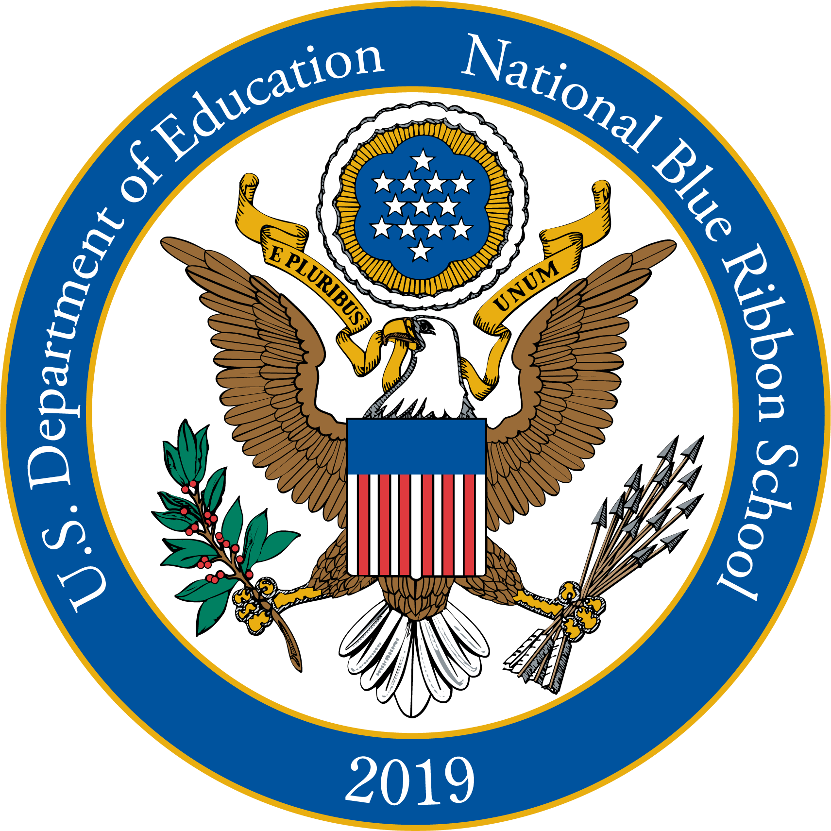 USDOE Blue Ribbon Award Seal