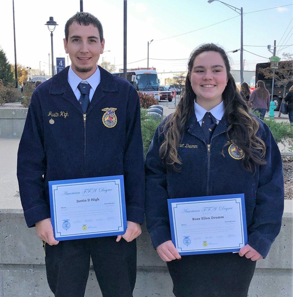 American Degree recipients.