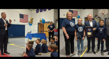 Letort Elementary recognition ceremony