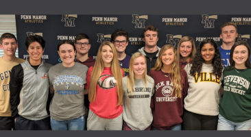 National Signing Day participants