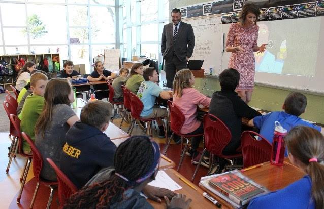 Elizabeth Raff's classroom