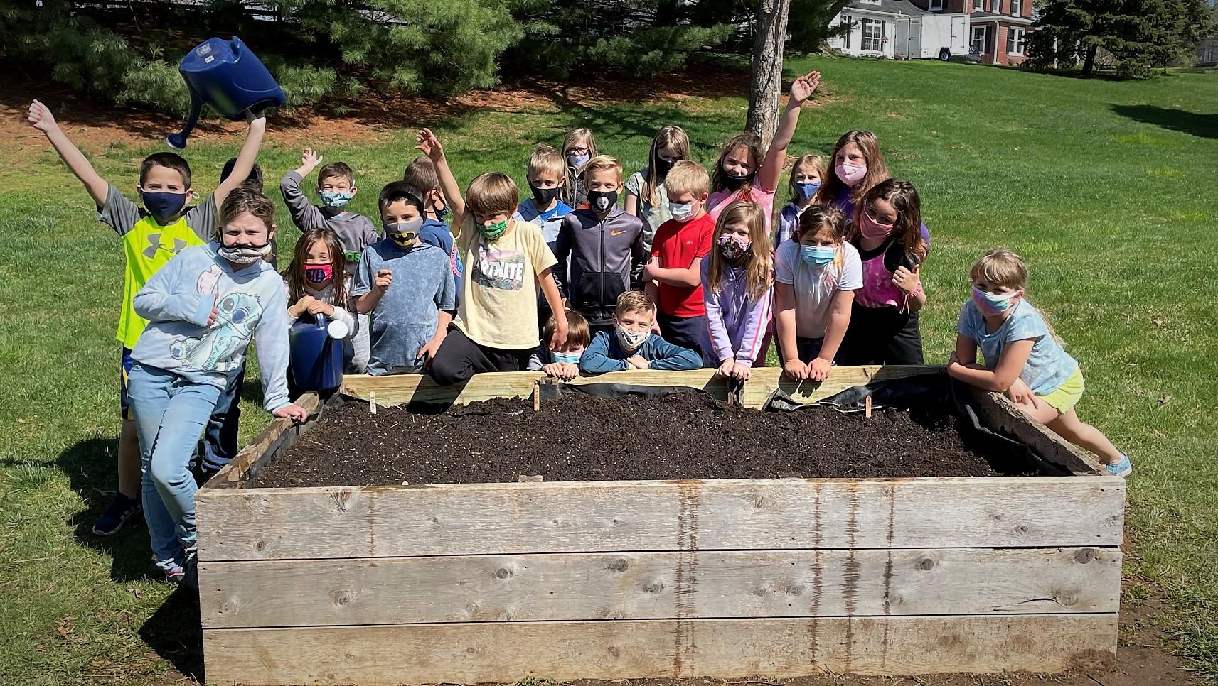 Plant Week activities at Eshleman Elementary School