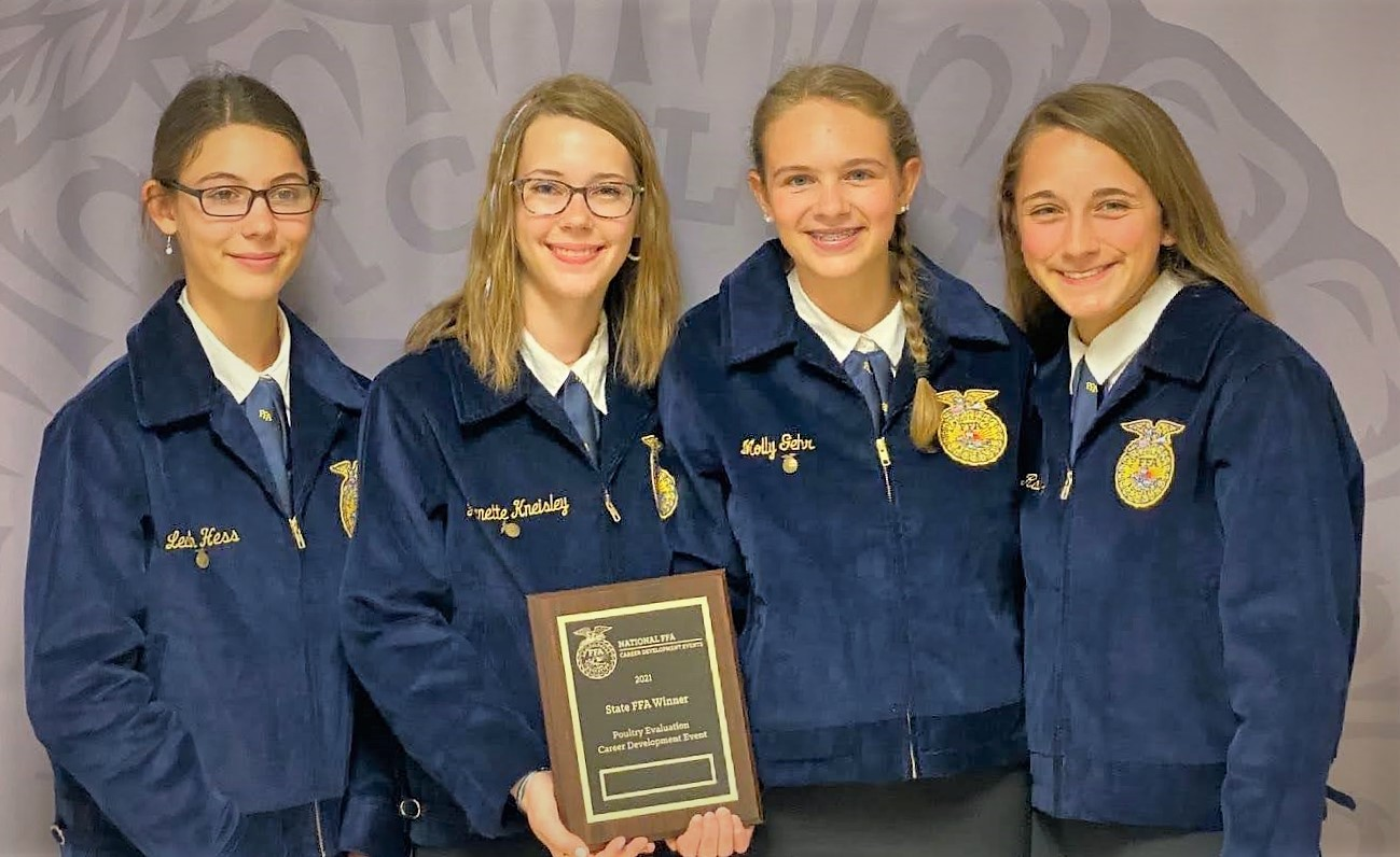 Poultry Evaluation Team members