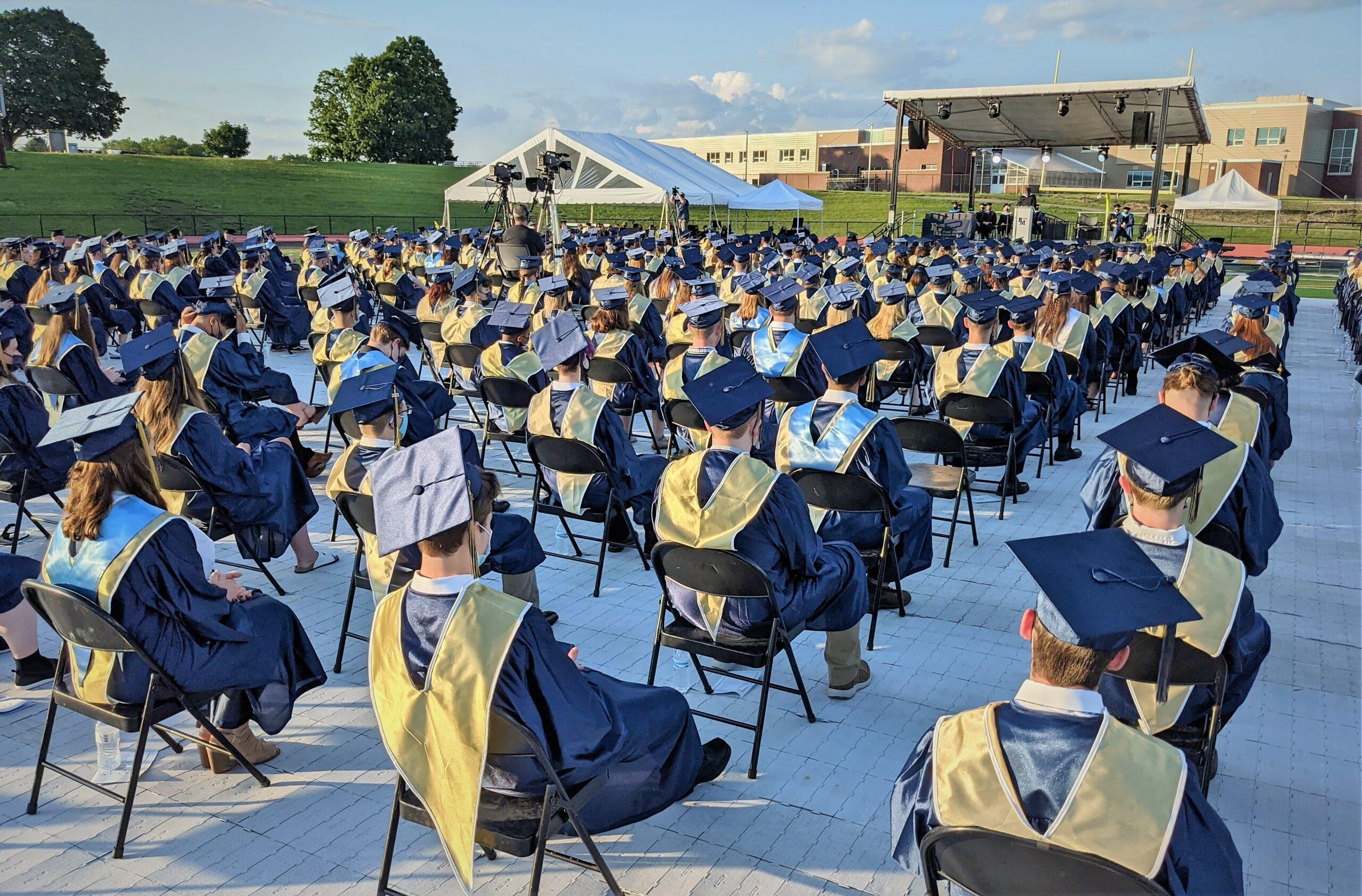 Penn Manor 2021 commencement